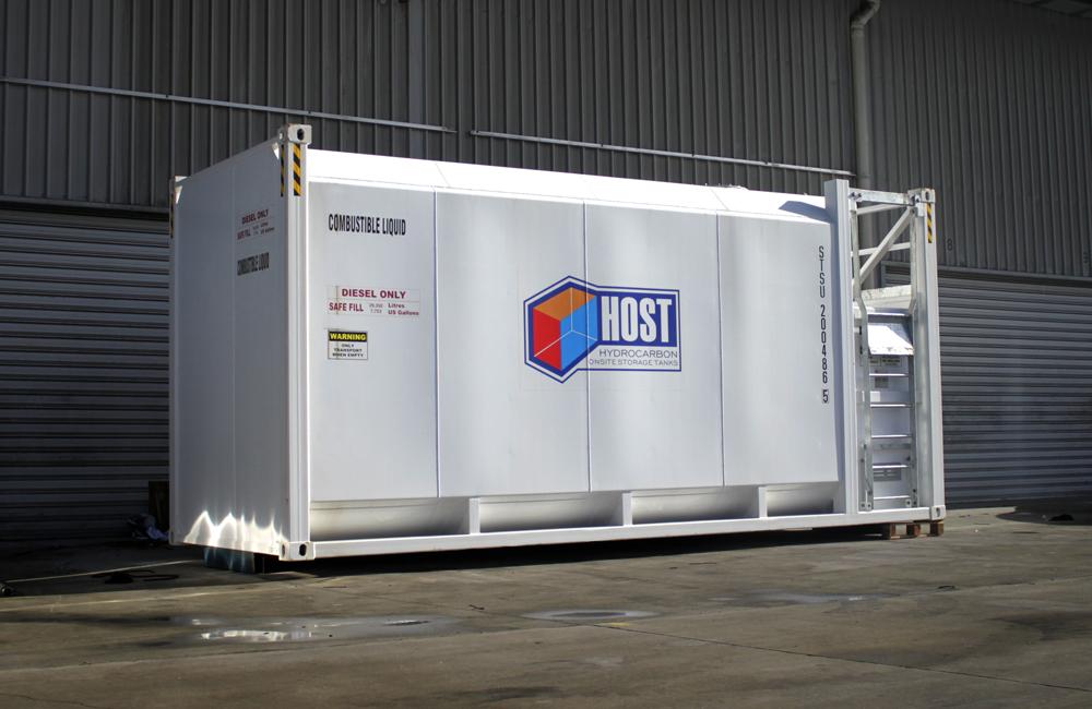 HOST ISO Classic Self Bunded Storage Tanks