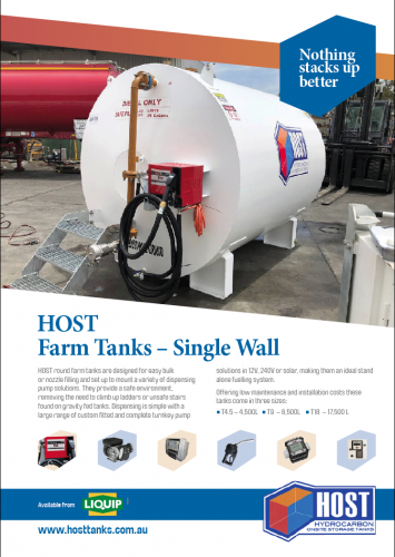 HOST Farm Tanks Brochure